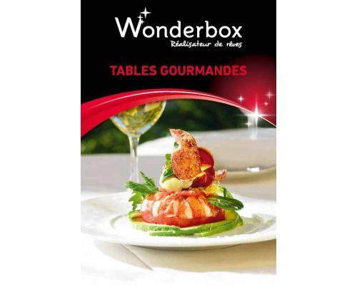 Cadeau un coffret cadeau wonderbox tables gourmandes - Wonderbox tables gourmandes ...
